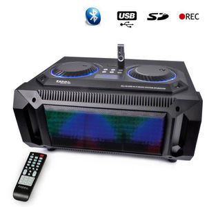 ENCEINTE ET RETOUR Enceinte SPLBOX150 200W 2,1 Bluetooth USB SD FM