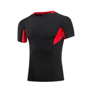 T-SHIRT DE COMPRESSION T-shirt de sport Débardeur Compression Tops avec M