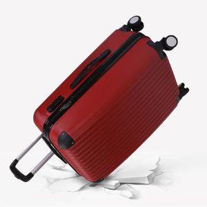SET DE VALISES lot de 3 valises trousse sac à roulettes rigide et