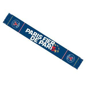 DRAPEAU - BANDEROLE Echarpe PSG Champion 2015 Paris Saint Germain