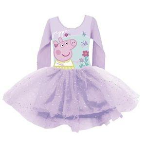 DÉGUISEMENT - PANOPLIE PEPPA PIG Tenue de Danse Ballet Pour Enfants de 2,