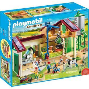 UNIVERS MINIATURE PLAYMOBIL 70132 - Country La Ferme - Grande ferme