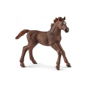 FIGURINE - PERSONNAGE SCHLEICH - Figurine 13857 Poulain Pur-sang anglais