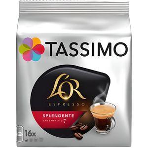 CAFÉ Tassimo - Tassimo L'OR Espresso Splendente (lot de