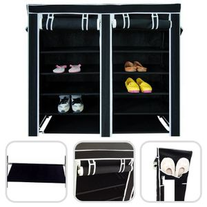 armoire chaussure toile achat vente armoire chaussure. Black Bedroom Furniture Sets. Home Design Ideas