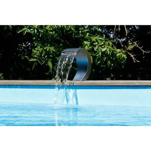 Fontaine inox pour piscine achat vente fontaine inox for Fontaine piscine design