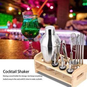 SHAKER - SET COCKTAIL  13pcs set ensemble outils pour cocktail SHAKER - A