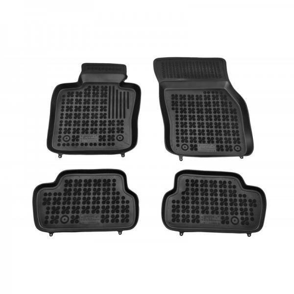 Tapis de sol en caoutchouc noir pour MINI One Cooper III F56 2013-
