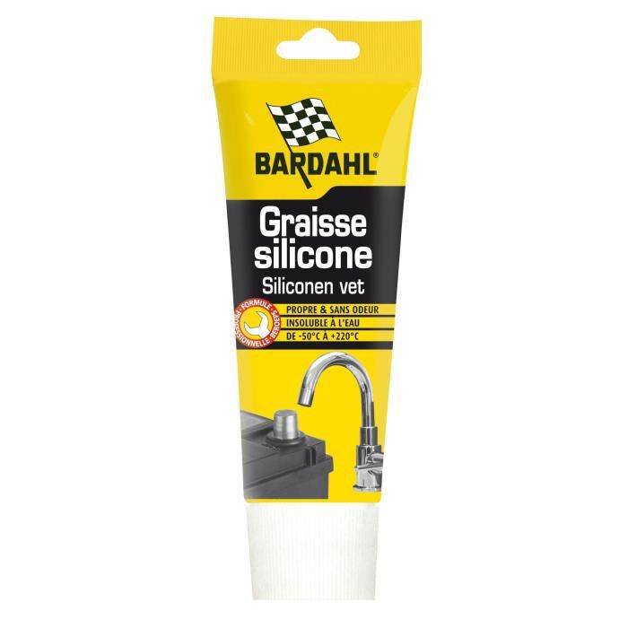 Graisse silicone alimentaire tube 150 gr BARDHAL 2001532