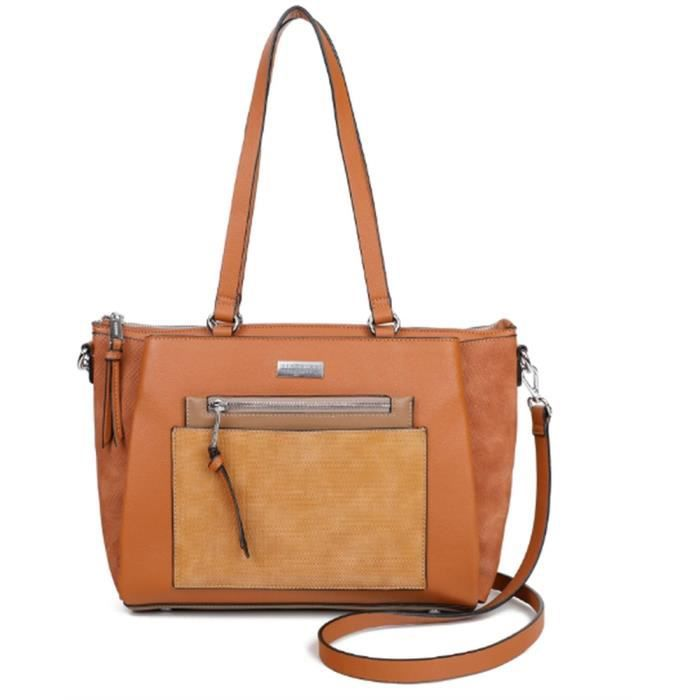 sacs portés main sylviane femme georges rech gr-a19-170106 Camel