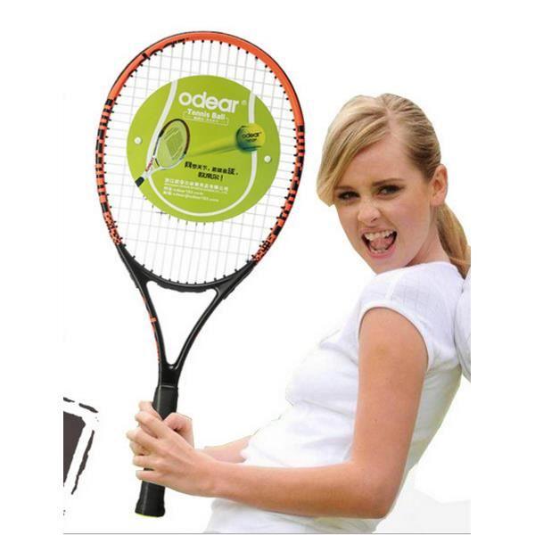 M104 raquette de tennis en aluminium carbone hommes et femmes débutants costume raquette de tennis de raquette de tennis de carbone