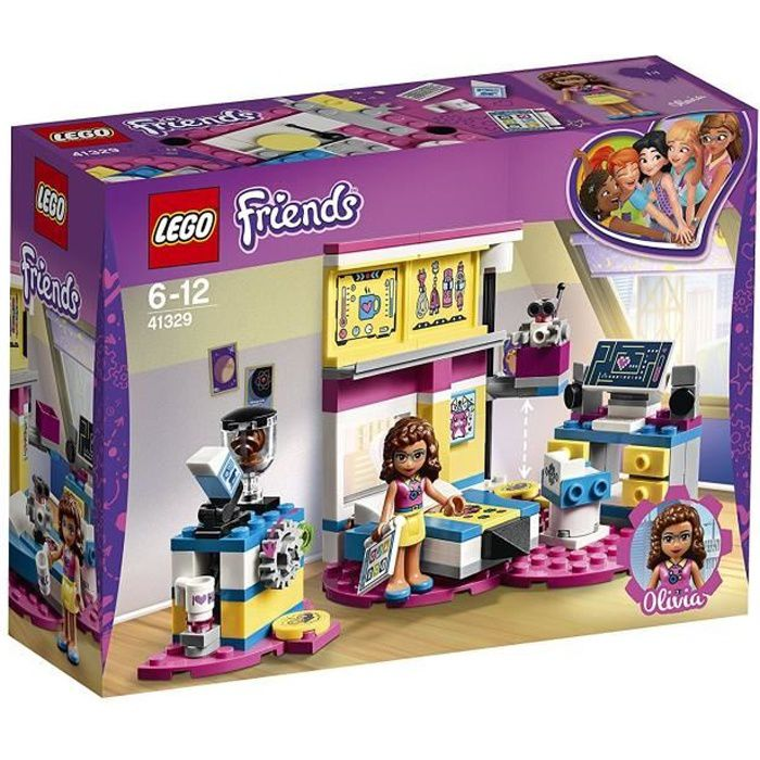 LEGO® Friends 41329 La chambre labo d'Olivia - Jeu de construction