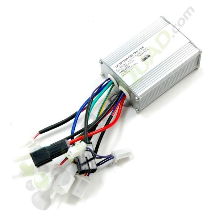 Controleur régulateur de tension 500W 24V de pocket cross électrique E-Mico