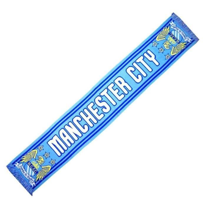 ECHARPE MANCHESTER CITY Angleterre No drapeau maillot fanion casquette ...