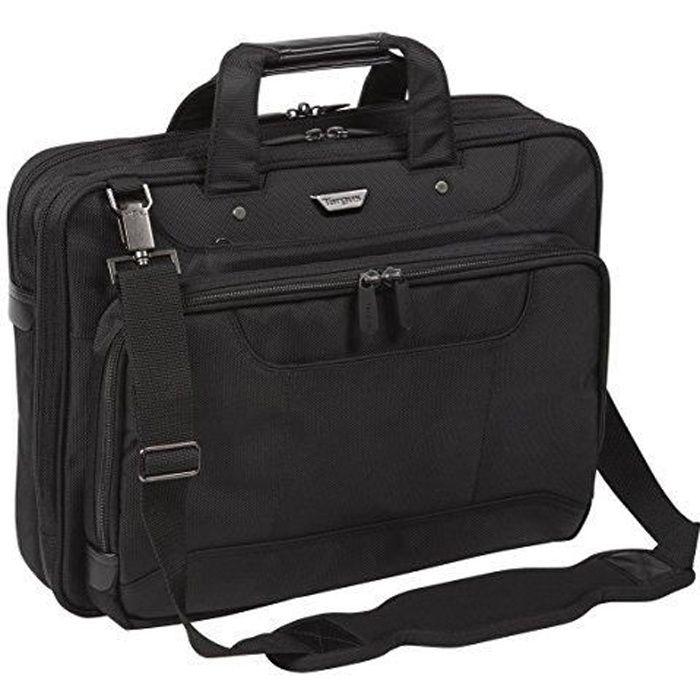 Targus CUCT02UA15EU Corporate Traveller Sacoche pour Ordinateur Portable 15-15.6- - Noir