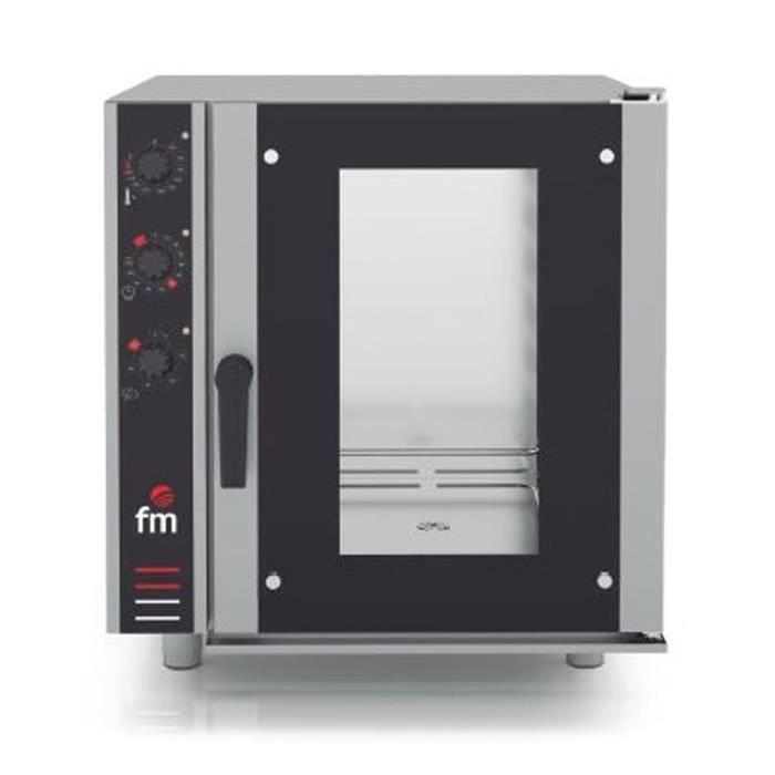 Four mixte à injection (vapeur + air pulsé) GN 1-1 ou 600x400 - L755 x P890 x H840 mm - FM