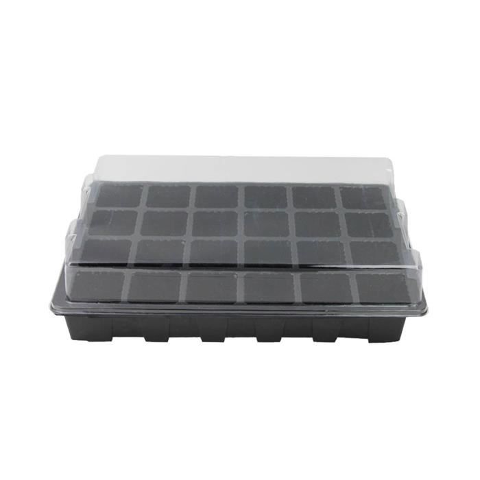 3 Pcs Set Plateau De Semis Portable Sans Sol Pratique Ménage Semence Légumes Sprouter Grower D'herbe Blé POT DE GERMINATION