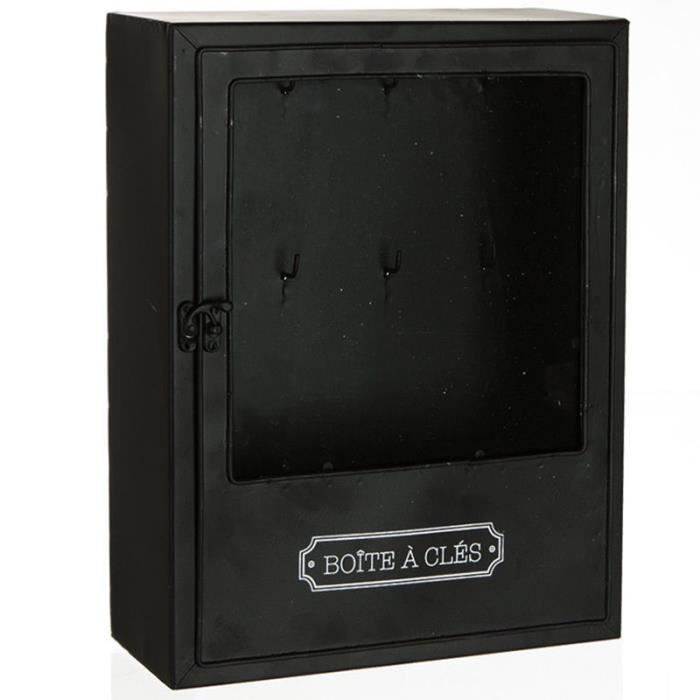 boite armoire cl s murale rangement des clefs en. Black Bedroom Furniture Sets. Home Design Ideas