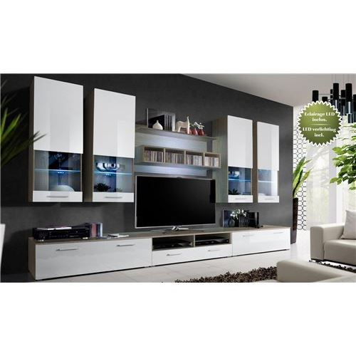 meuble tv murale fred achat vente meuble tv hi fi. Black Bedroom Furniture Sets. Home Design Ideas