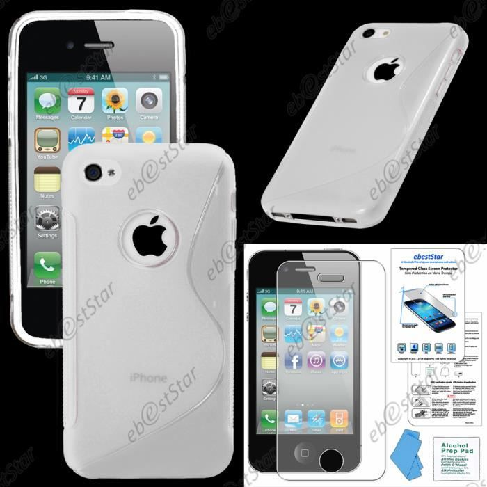 iphone 4 verre coque
