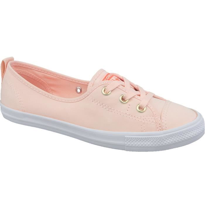converse all star femme orange