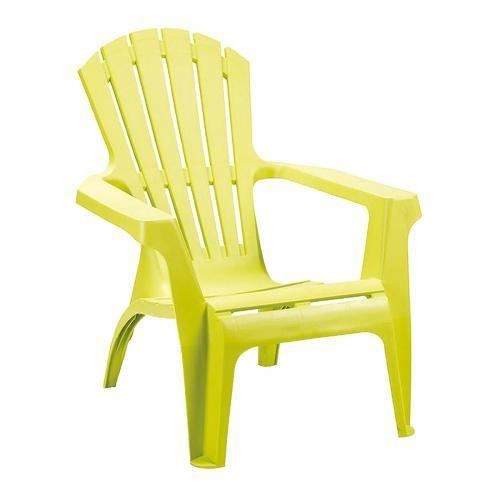 Fauteuil vert anis achat vente fauteuil vert anis pas for Chaise jardin vert anis