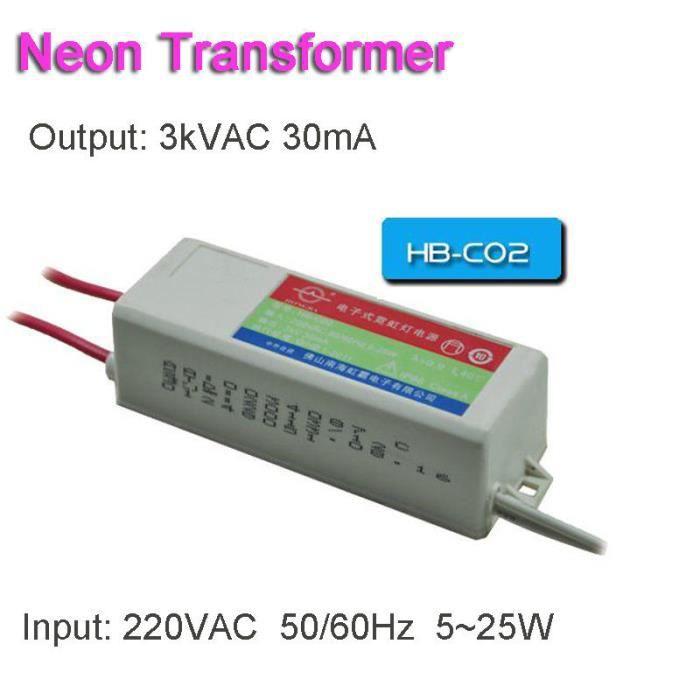 ALIMENTATION TEMPSA Electronique Neon Transformateur Transfo Al