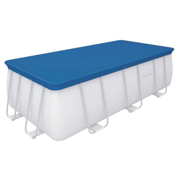 Bestway b che 4 saisons pour piscine frame pool for Couverture piscine 4 saisons