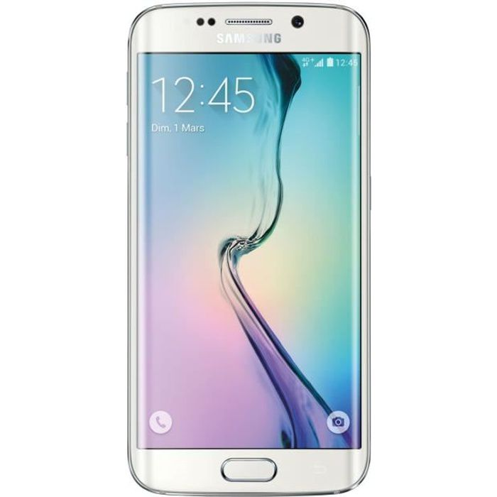 samsung galaxy s6 edge 32 go blanc achat smartphone pas. Black Bedroom Furniture Sets. Home Design Ideas