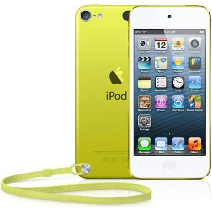 new ipod touch 32 go yellow g n ration 5 lecteur mp4. Black Bedroom Furniture Sets. Home Design Ideas