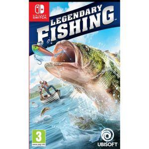 JEU NINTENDO SWITCH Legendary Fishing Jeu Switch