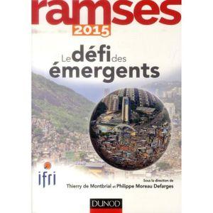 LIVRE SCIENCES PO  Ramses 2015 - Le défi des émergents