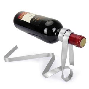 PORTE-VERRE Ruban coloré flottant magique bouteille de vin Por