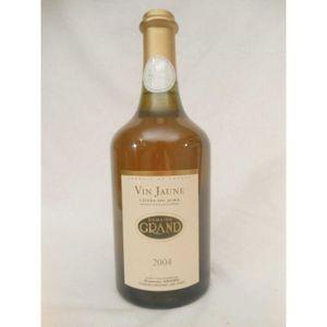 VIN BLANC côtes du jura grand vin jaune jaune 2004 - france