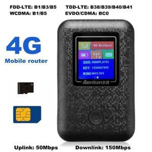 MODEM - ROUTEUR TENPSA LTE ROUTEUR Sans Fil RAPIDE WLAN WIFI 4G 15