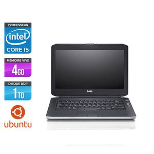 ORDINATEUR PORTABLE Pc portable Dell E5430 - i5 - 4Go - 1 To HDD - Ubu