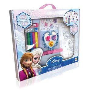 FIGURINE - PERSONNAGE IMC Toys 16330FR La Reine des Neiges Coffret Tampo