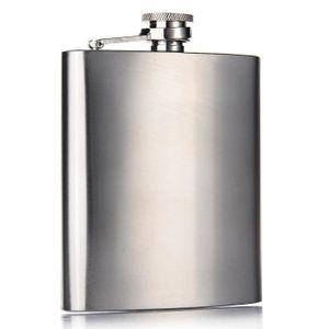 FLASQUE LIHAO 7 OZ Flasque Hip Flask en Acier Inoxydable -