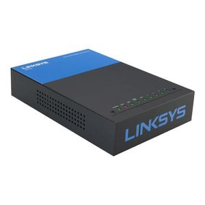 MODEM - ROUTEUR LINKSYS LRT224 Routeur VPN Gigabit Double WAN Open