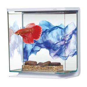 AQUARIUM Aquarium Betta Kit Voile Bleu 3 Litres Marina