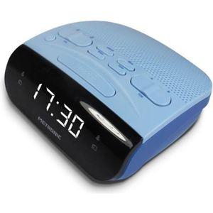 Radio réveil METRONIC 477033 Radio Réveil duo - Bleu