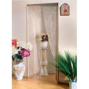 RIDEAU DE PORTE Rideau de porte Perle cristal Clara Morel 90x220cm