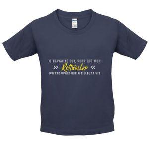 T-SHIRT Dressdown T-shirt  Je travaille dur pour que mon r