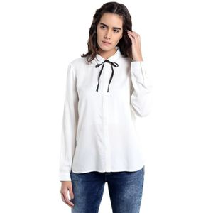 T-SHIRT Vero Moda Shirt Coupe droite des femmes S7JM3 Tail