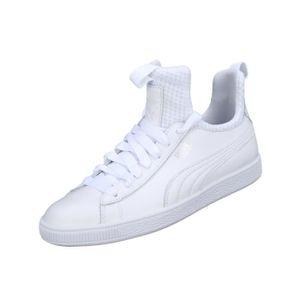 baskets femmes puma blanches