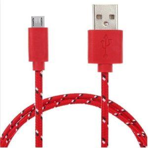 CÂBLE TÉLÉPHONE Cable Tressé pour HUAWEI P9 Lite 3m Universel Char