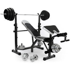 BANC DE MUSCULATION All In One Bench Gym Dumbell Banc de musculation ab6e41e2982