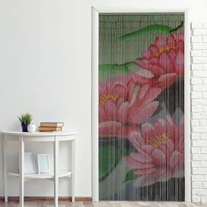 RIDEAU DE PORTE Rideau de porte bambou ''Nénuphar'' 90 x 200 cm à