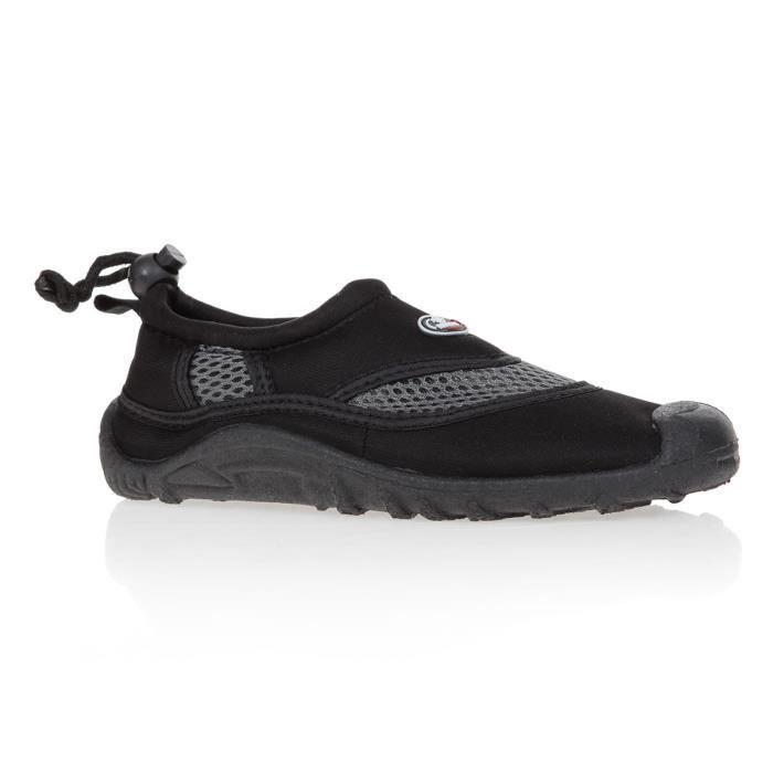 BEUCHAT Chaussures aquatiques - Enfant - Noir