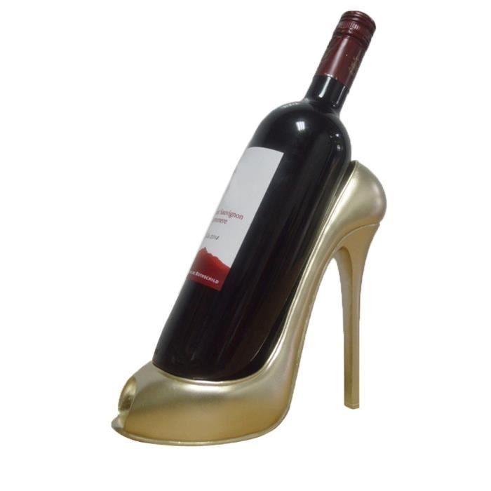 Casier à vin talon haut chaussure porte-bouteille stockage mariage fête décor ornement Gif irf2577